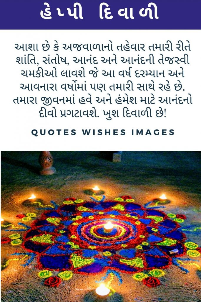 Diwali Wishes Images in Gujarati 2020